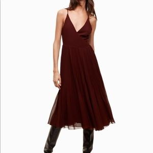 Wilfred - BEAUNE DRESS - Small - Rust Red